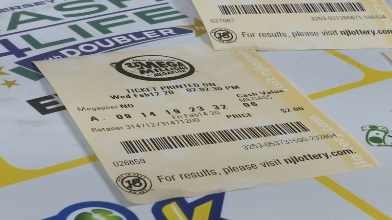 202 Million Mega Millions Ticket Sold In Middlesex County New Jersey 6abc Philadelphia