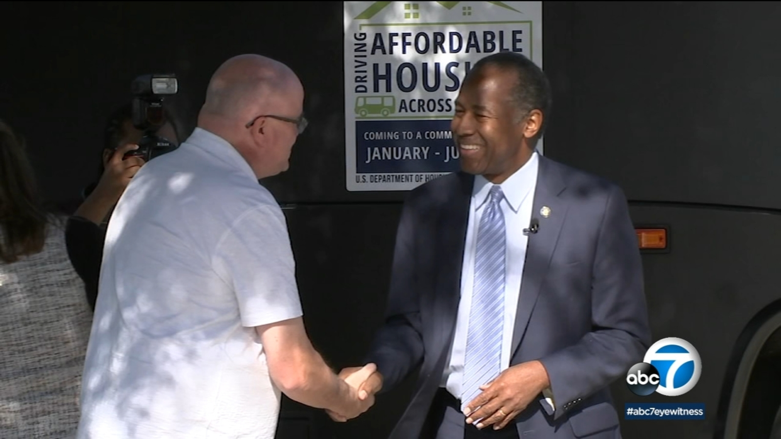 HUD Secretary Ben Carson visits Riverside for discussion on homelessness, affordable housing