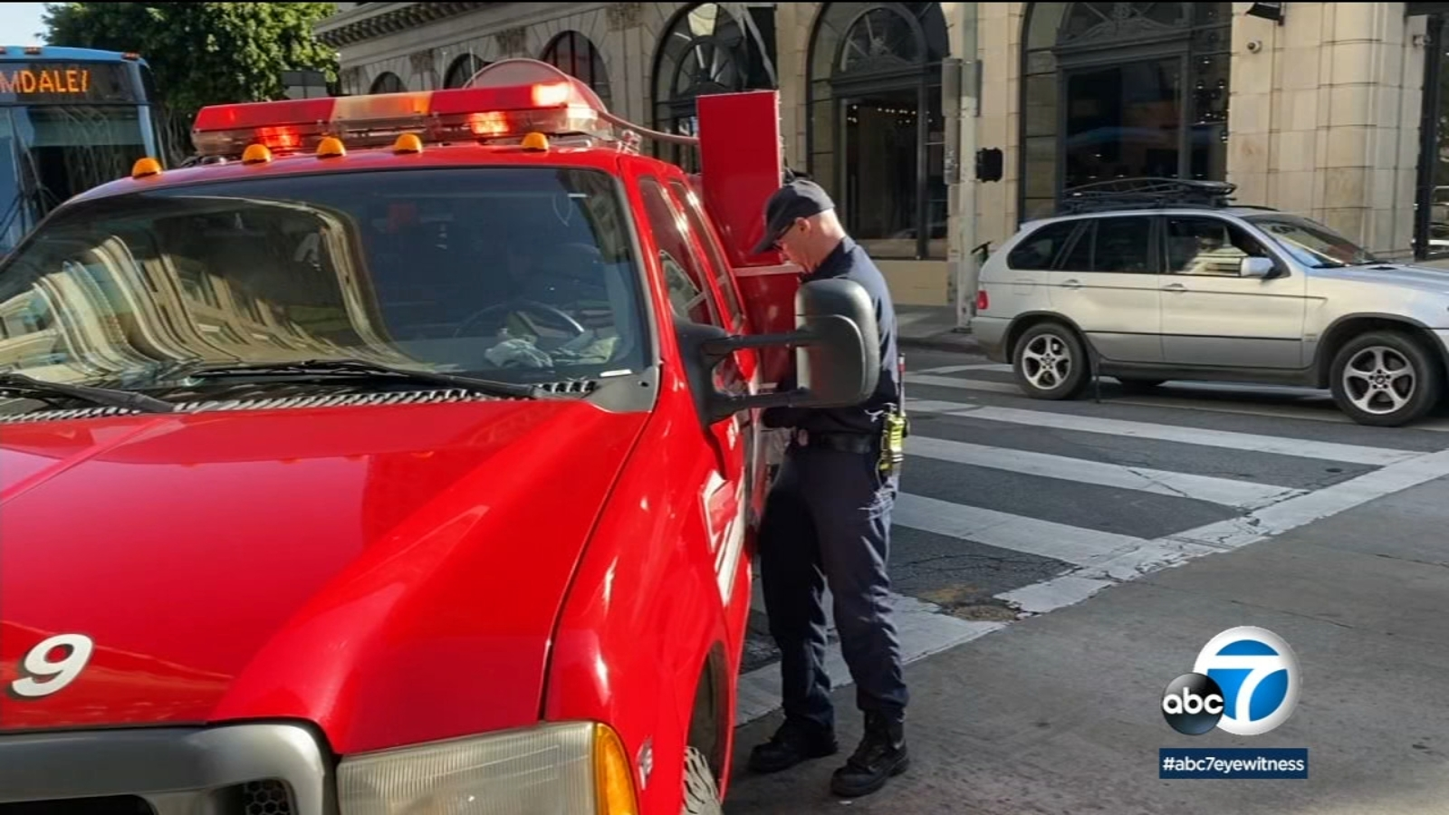 LAFD's Fast Response Vehicles help cut down on response time
