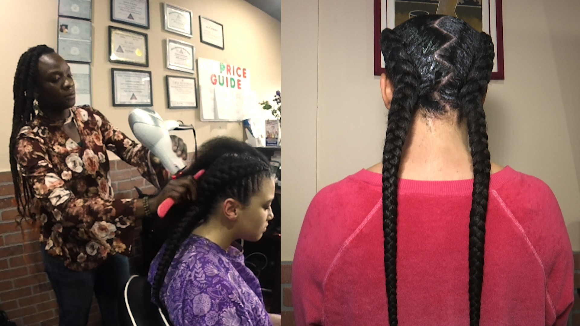 Long Island braiding salon offers customers authentic African hair styles  for more than 15 years