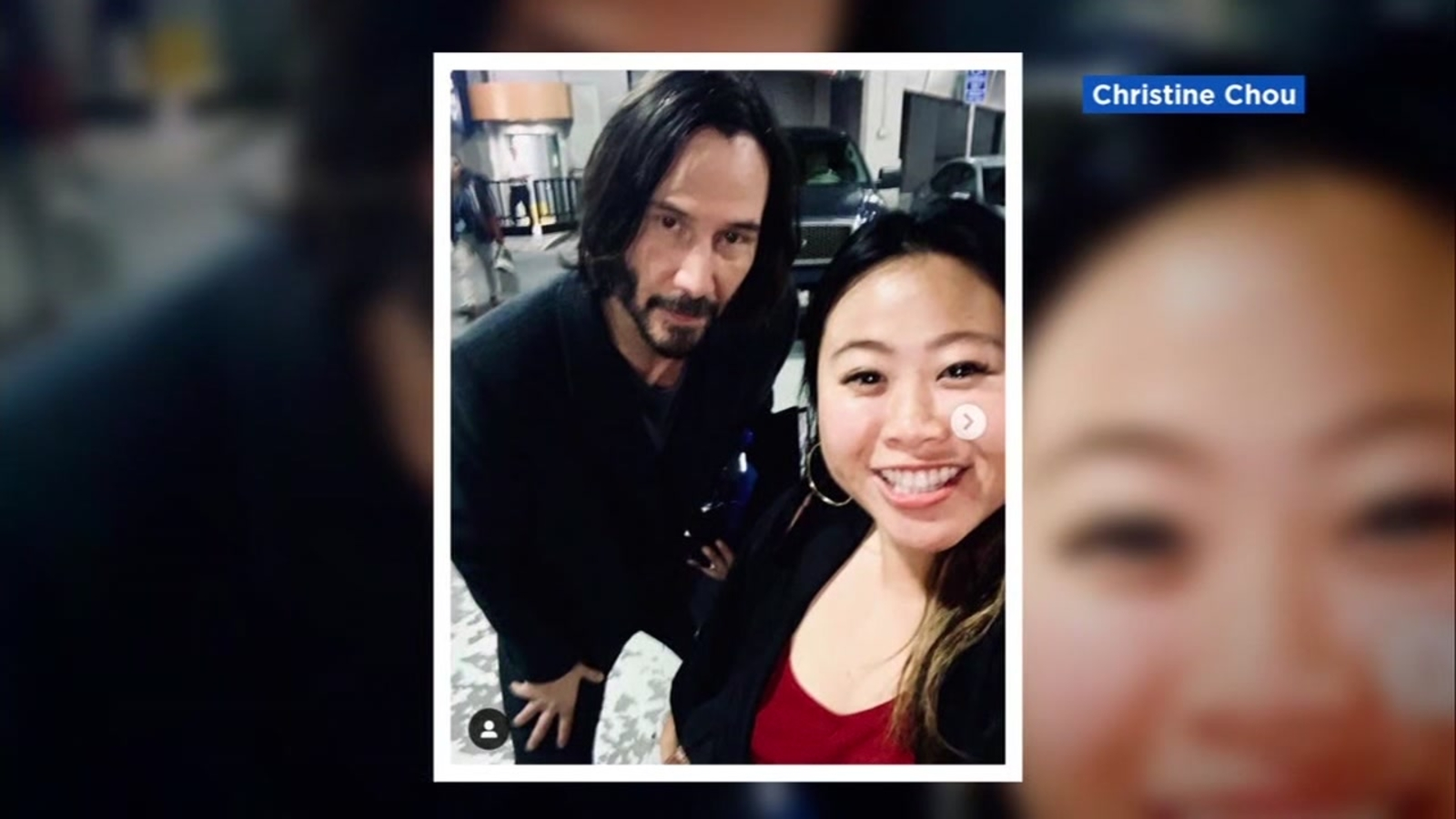 Fans wait for hours for possible sighting of Keanu Reeves on 'Matrix' set in San Francisco