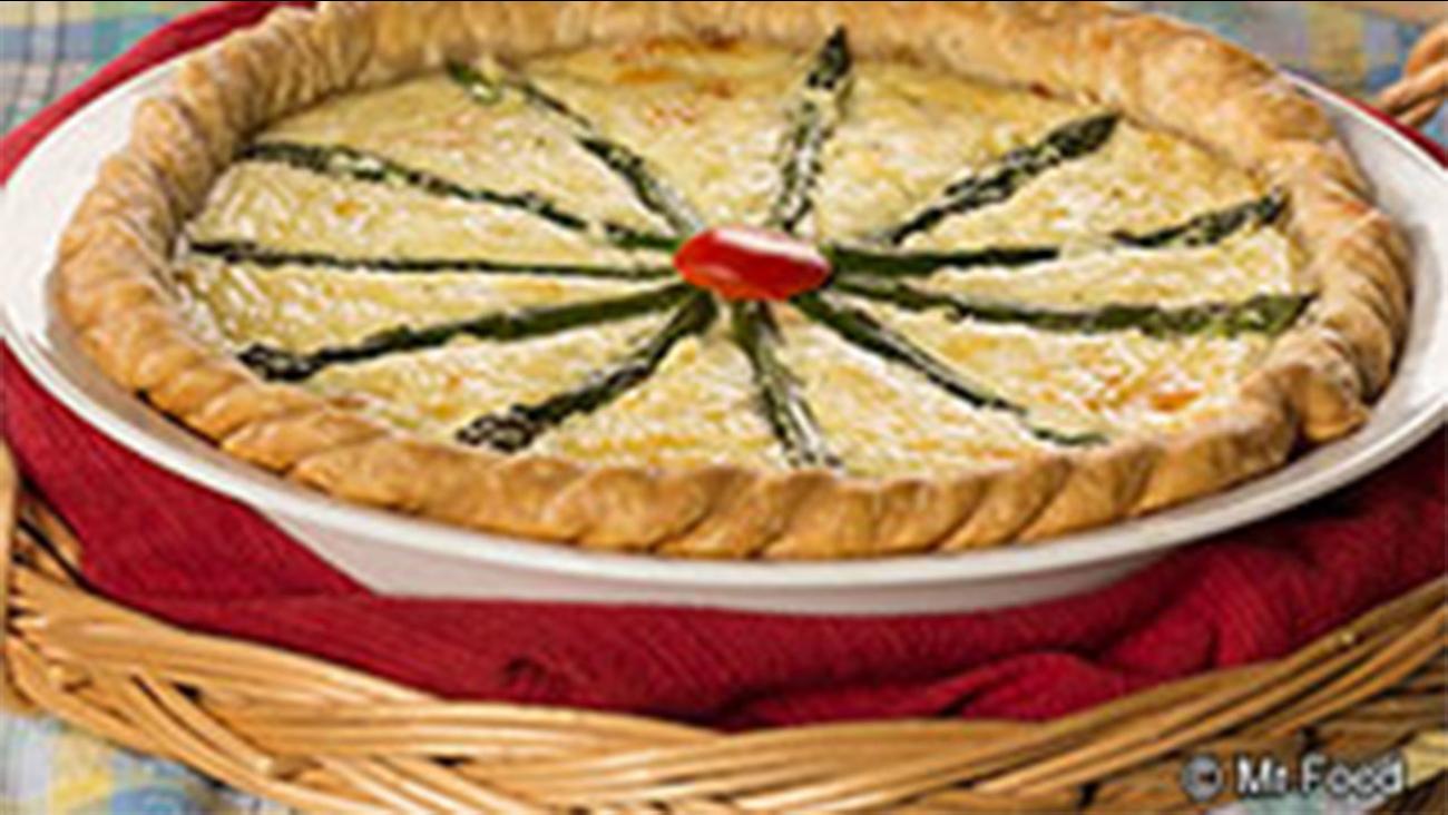 Amazing Asparagus Quiche