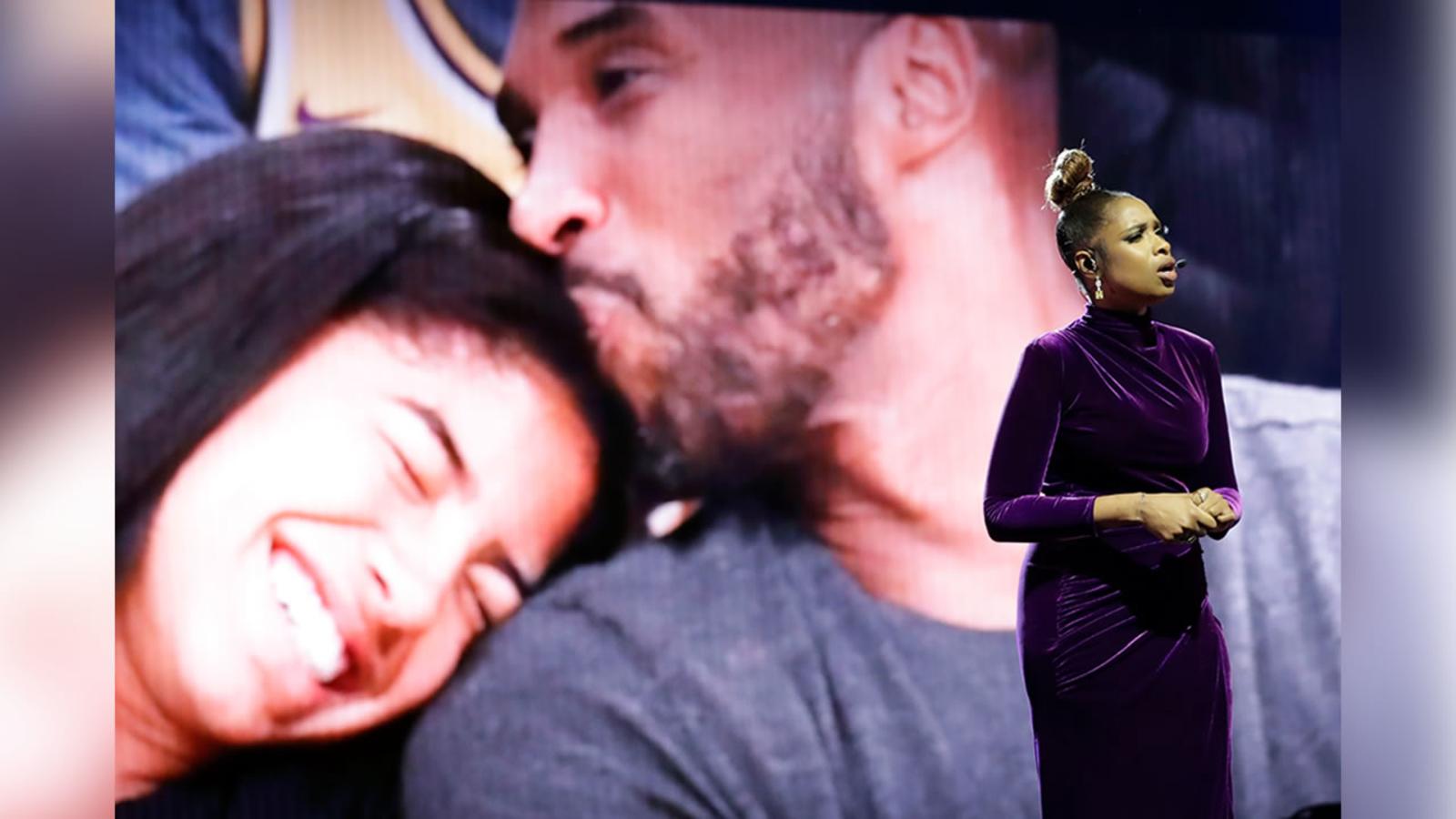 Magic Johnson, Jennifer Hudson lead tribute for Kobe Bryant ahead of All-Star Game in Chicago