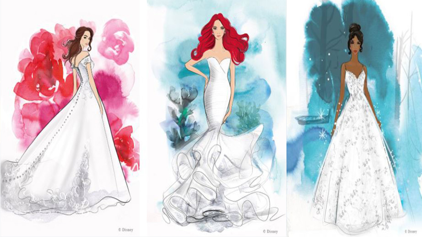 Allure Bridals Releasing Disney Princess Inspired Wedding Dresses