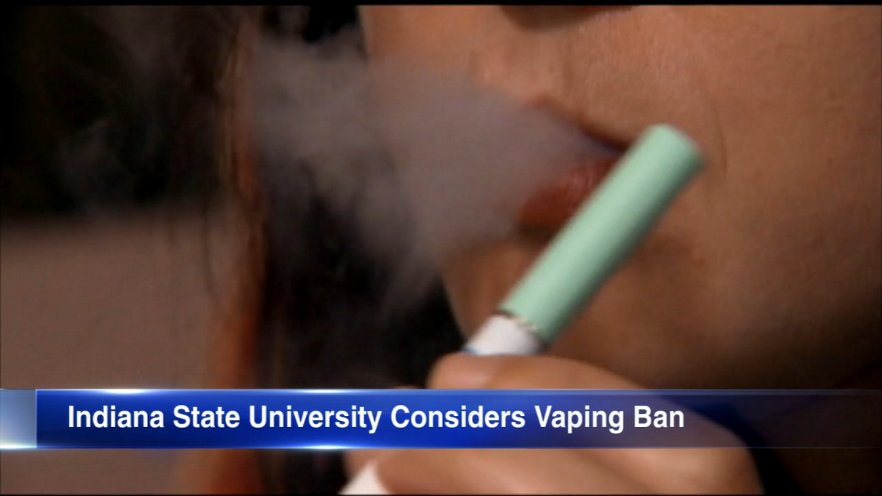 Indiana State University to consider proposed vaping ban