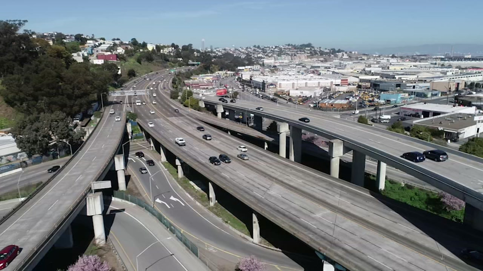 US 101 deck replacement at Alemany Circle expected to create traffic delays in San Francisco