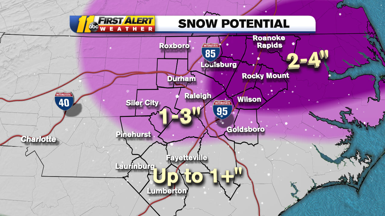NC weather: Winter Storm Warning issued in North Carolina, Winter Weather Advisory expanded