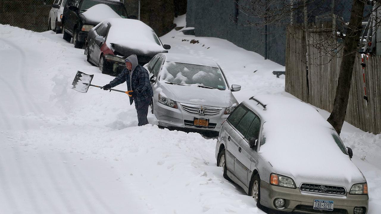 Snowless in New York City