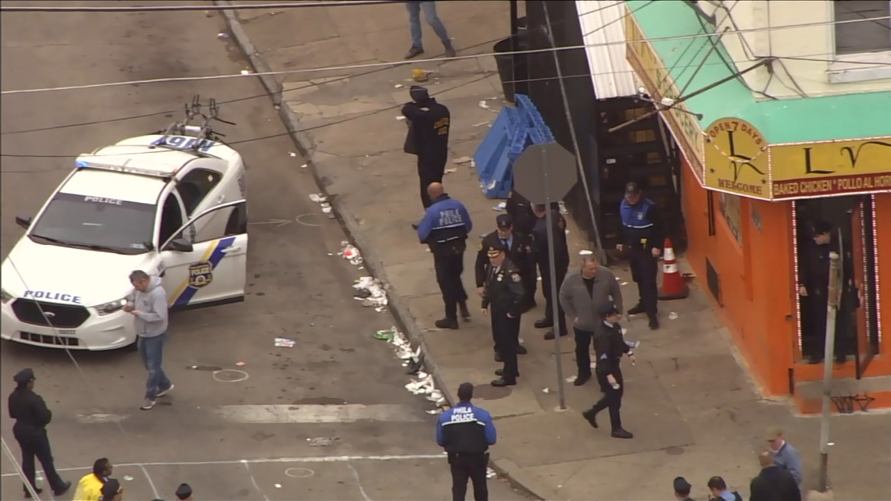 Argument leads to shootout in Philadelphia's Port Richmond section, police say
