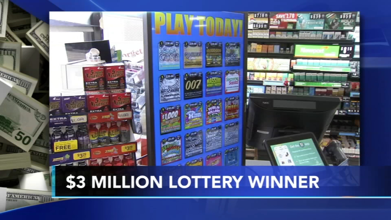 $3M scratch-off lottery ticket sold at 7-Eleven in Bucks County
