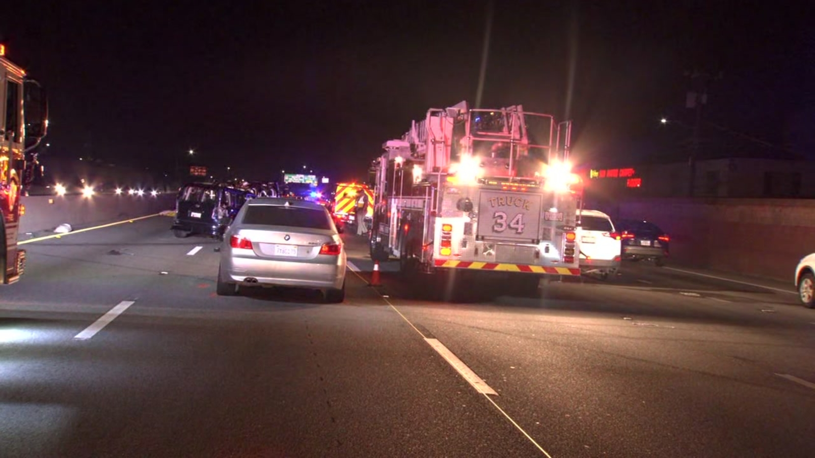 Good Samaritan killed in crash on Hwy 101 in San Mateo