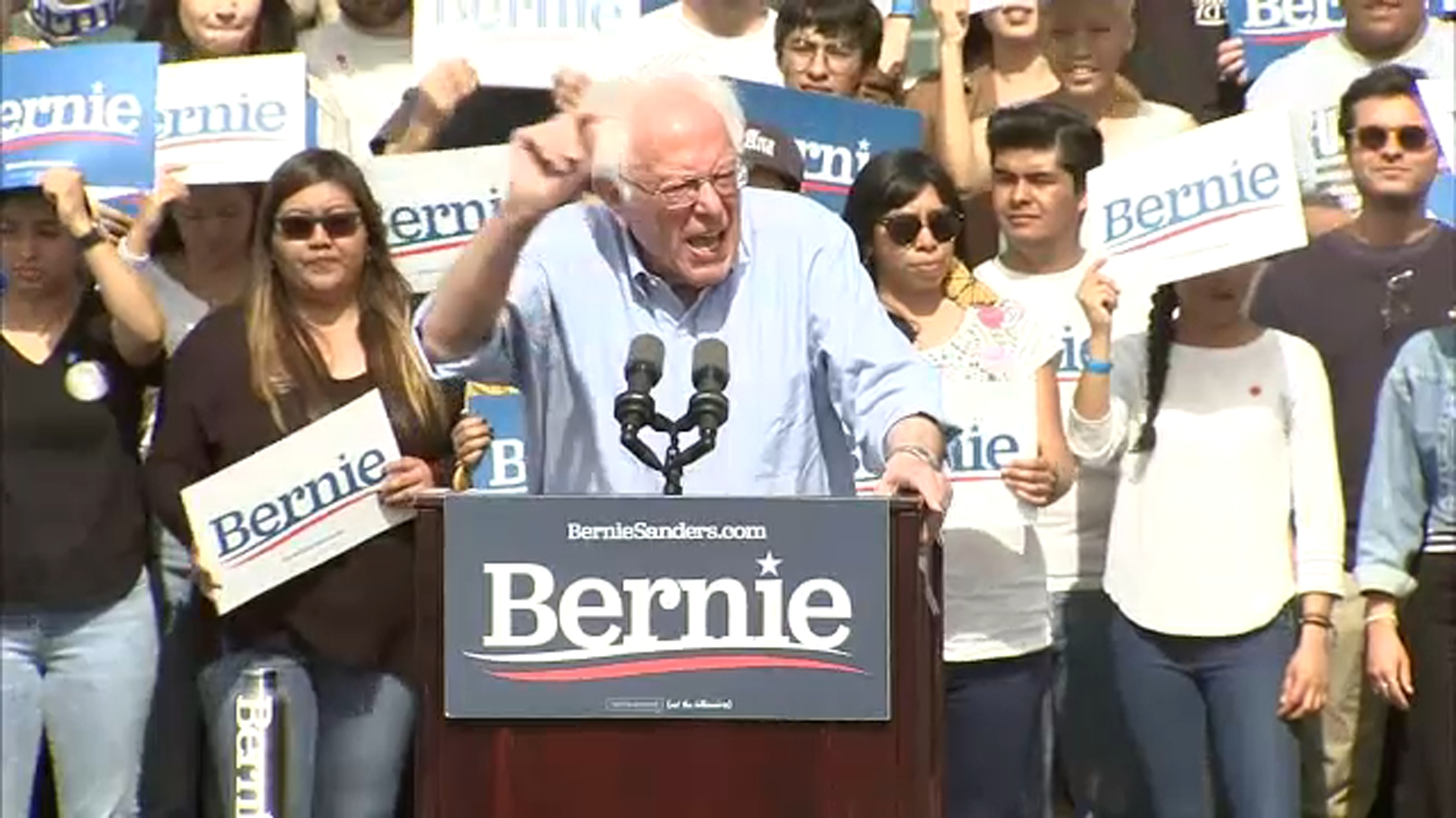 Bernie Sanders says Michael Bloomberg is 'worst candidate' to beat Trump ahead of Super Tuesday