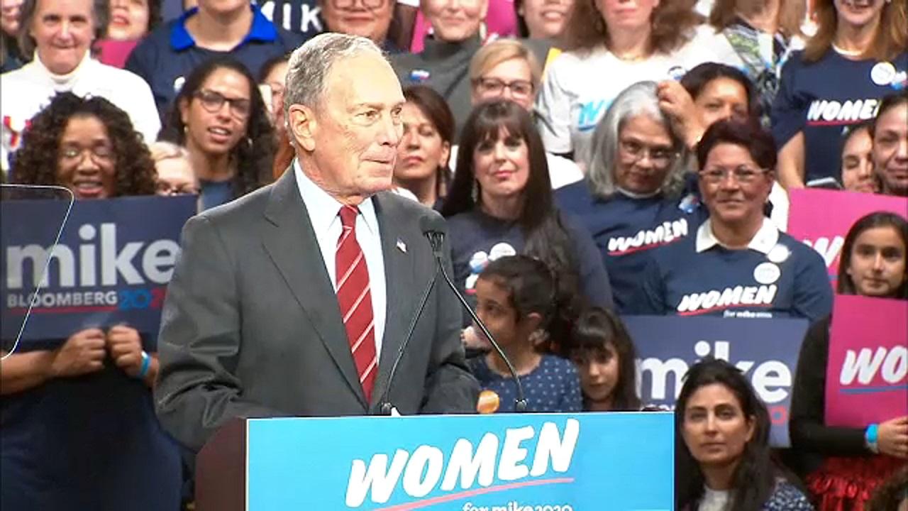 Mike Bloomberg says he will release 3 women from NDAs following fiery debate exchange