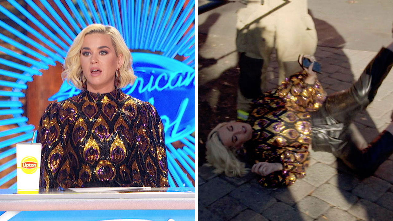 Katy Perry appears to collapse as gas leak interrupts 'American Idol' auditions: VIDEO
