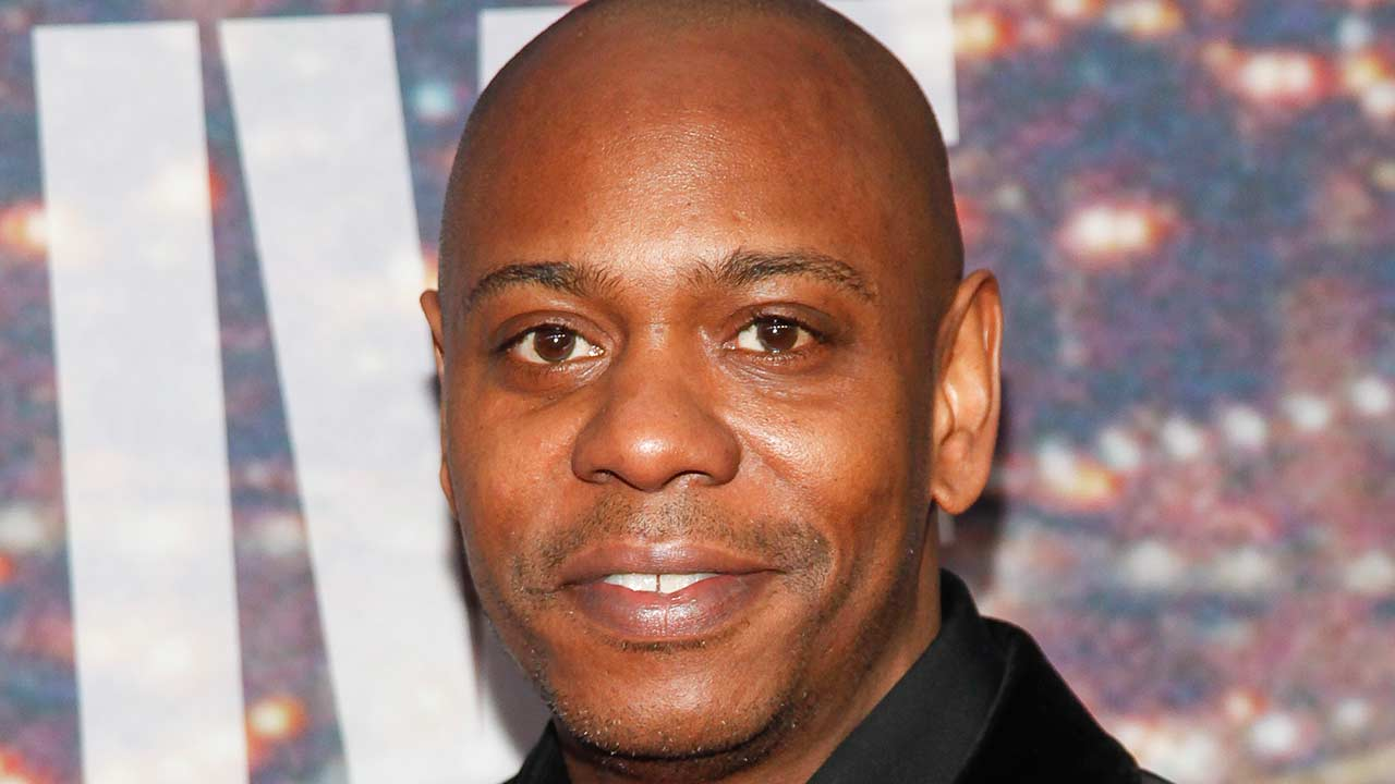 Christian Englander, left and Dave Chappelle