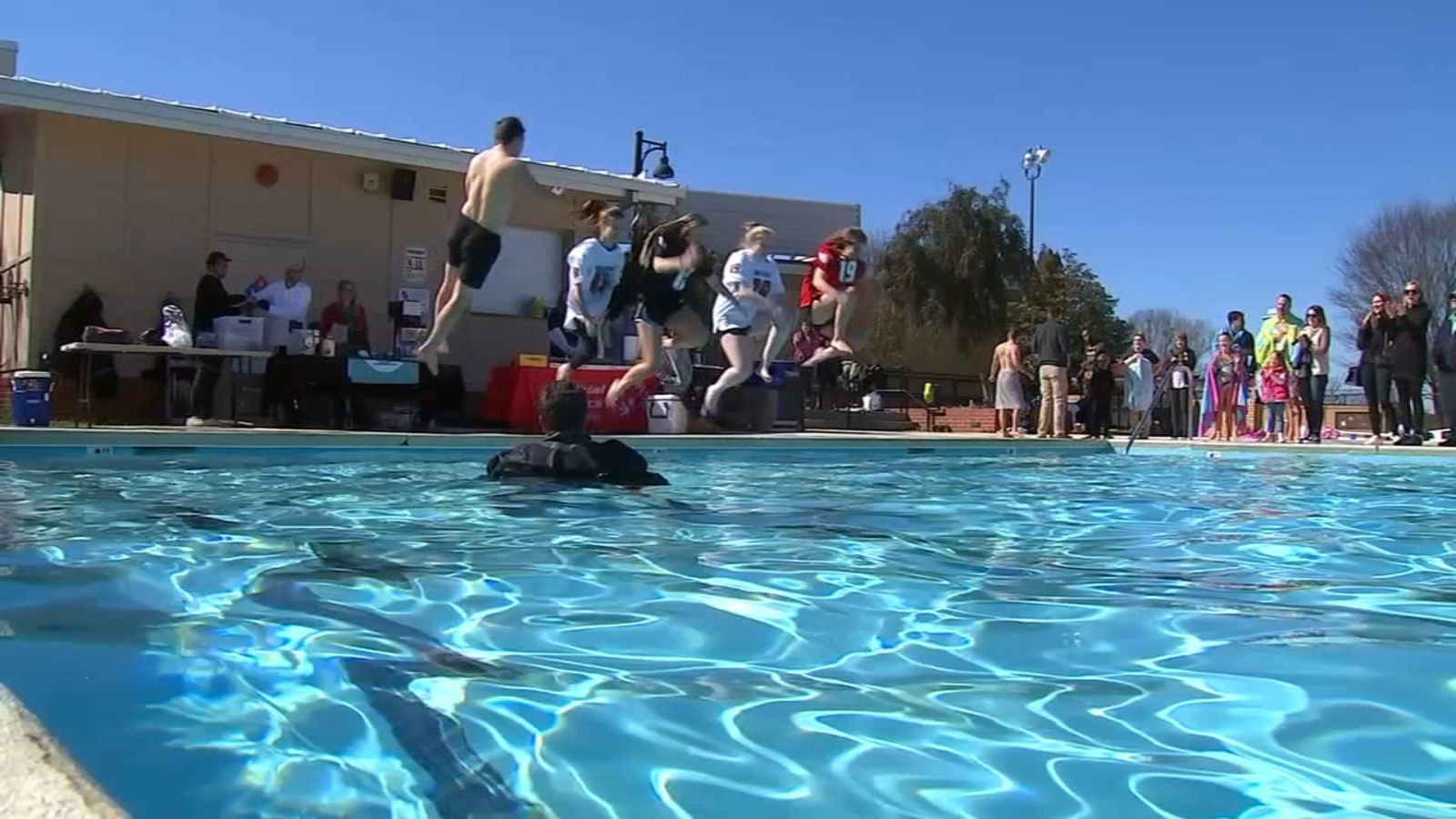 Raleigh Polar Plunge raises $5,000 to benefit Special Olympics athletes