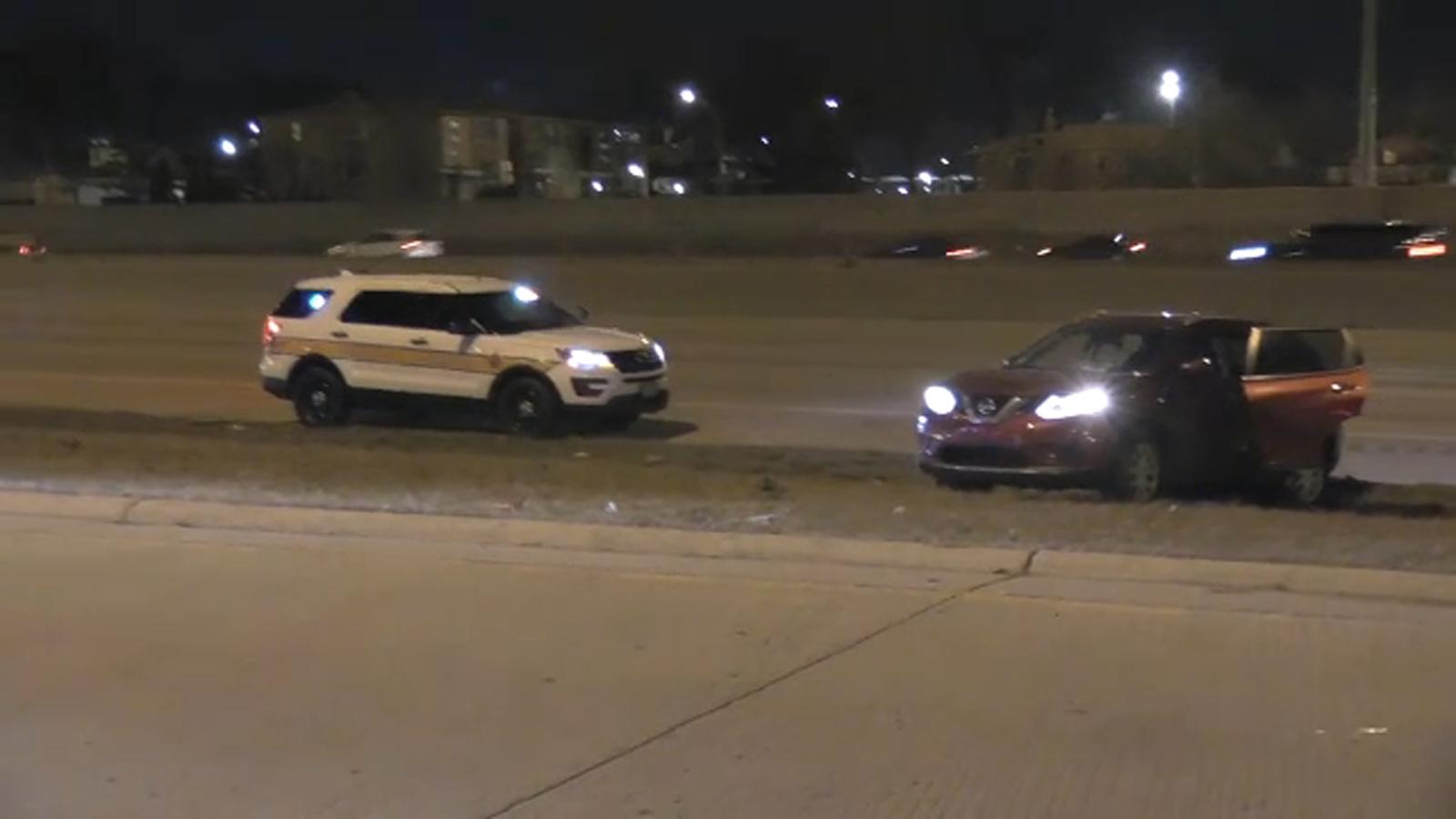 Man, woman shot while driving on Dan Ryan Expressway: Illinois State Police