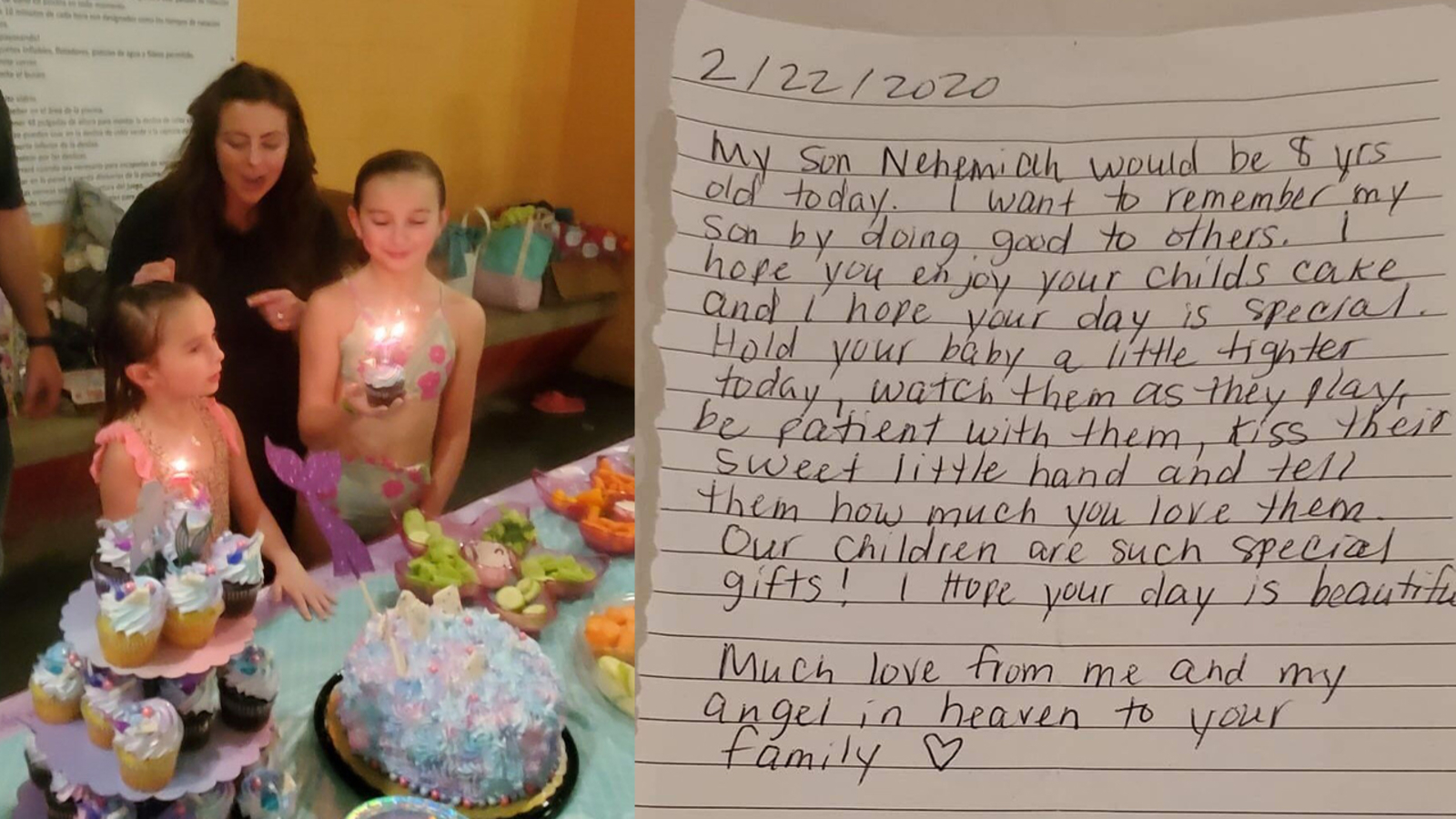 Stupendous Act Of Kindness Grieving Alvin Mother Who Lost Son Paid For Birthday Cards Printable Opercafe Filternl