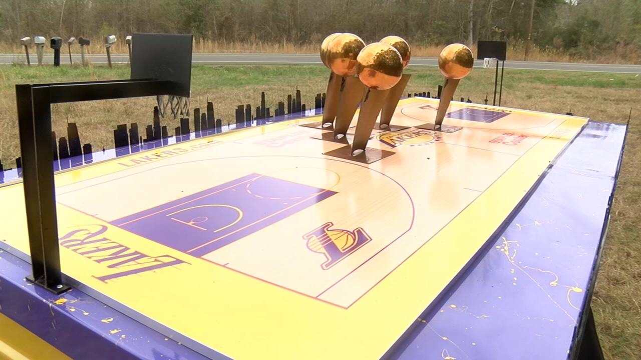 Kobe Bryant's custom made tribute casket was built by North Carolina man