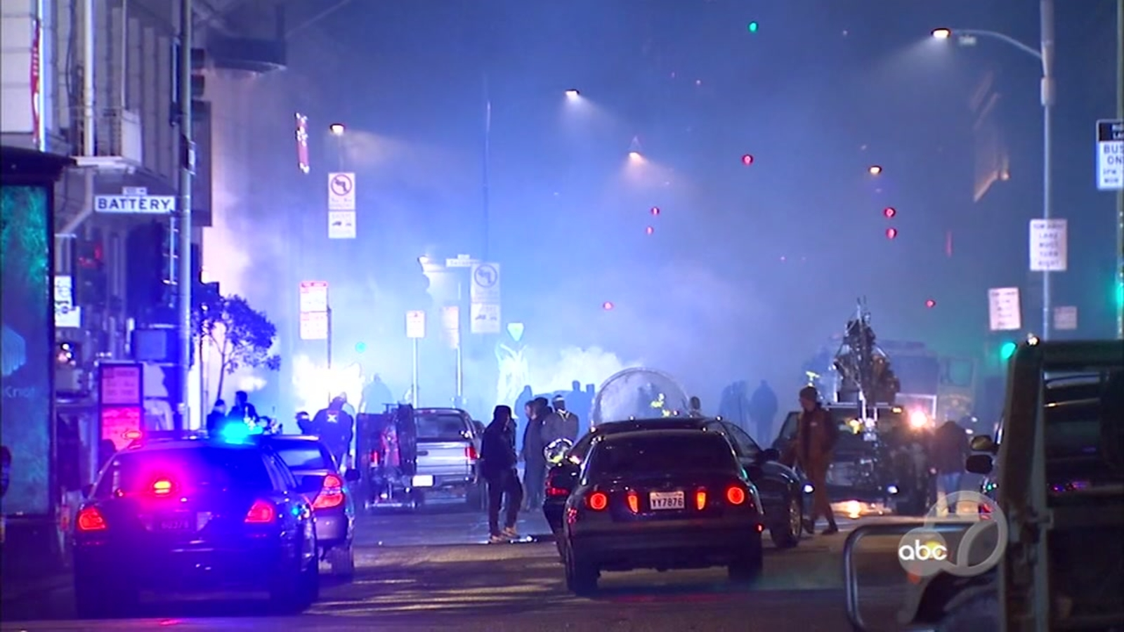 'Matrix 4' filming makes San Francisco's Financial District look like war zone