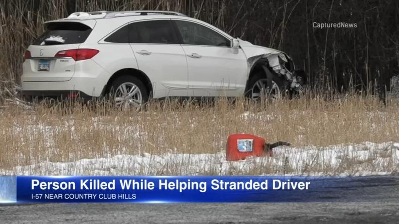 I 57 Crash Man Killed While Helping