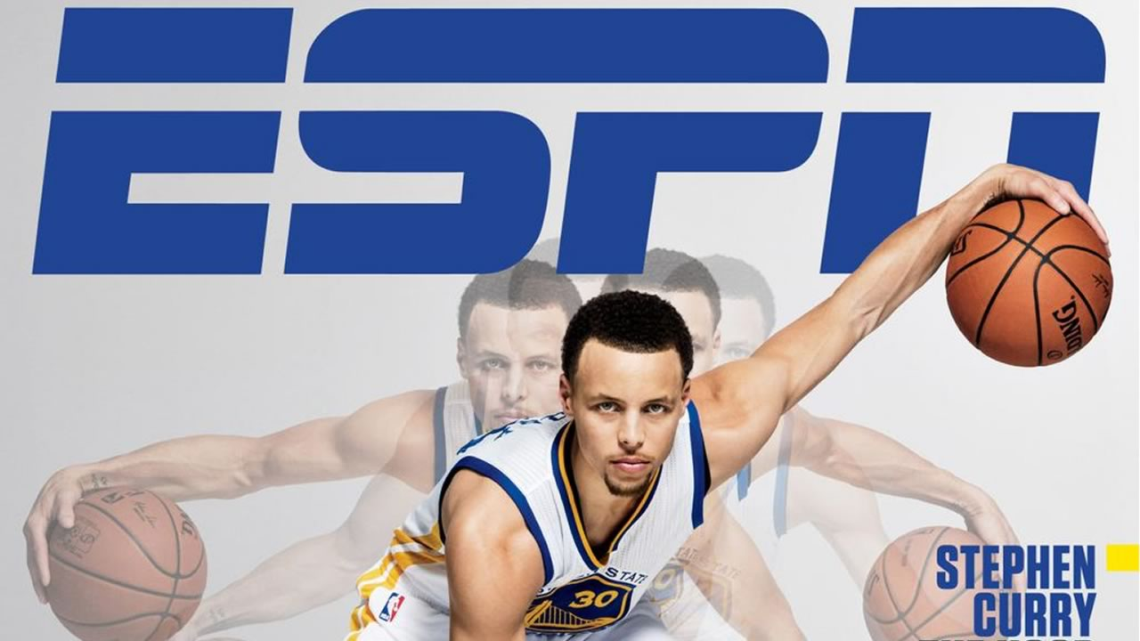 "Golden State Warriors star Stephen Curry is featured on the cover of ESPN The Magazine's ""Point Guard Issue"" that hits stands on March 3, 2015."