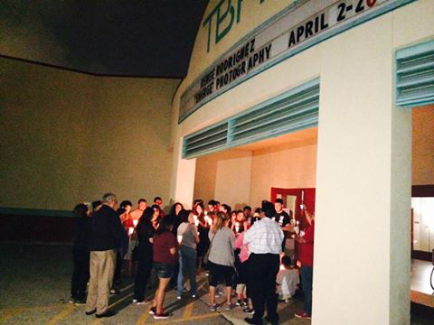 "<div class=""meta image-caption""><div class=""origin-logo origin-image none""><span>none</span></div><span class=""caption-text"">A vigil for Selena took place Tuesday night, March 31, 2015 at the TBH Latino Cultural Arts Center. (Baldemar Rodriguez/TBH)</span></div>"