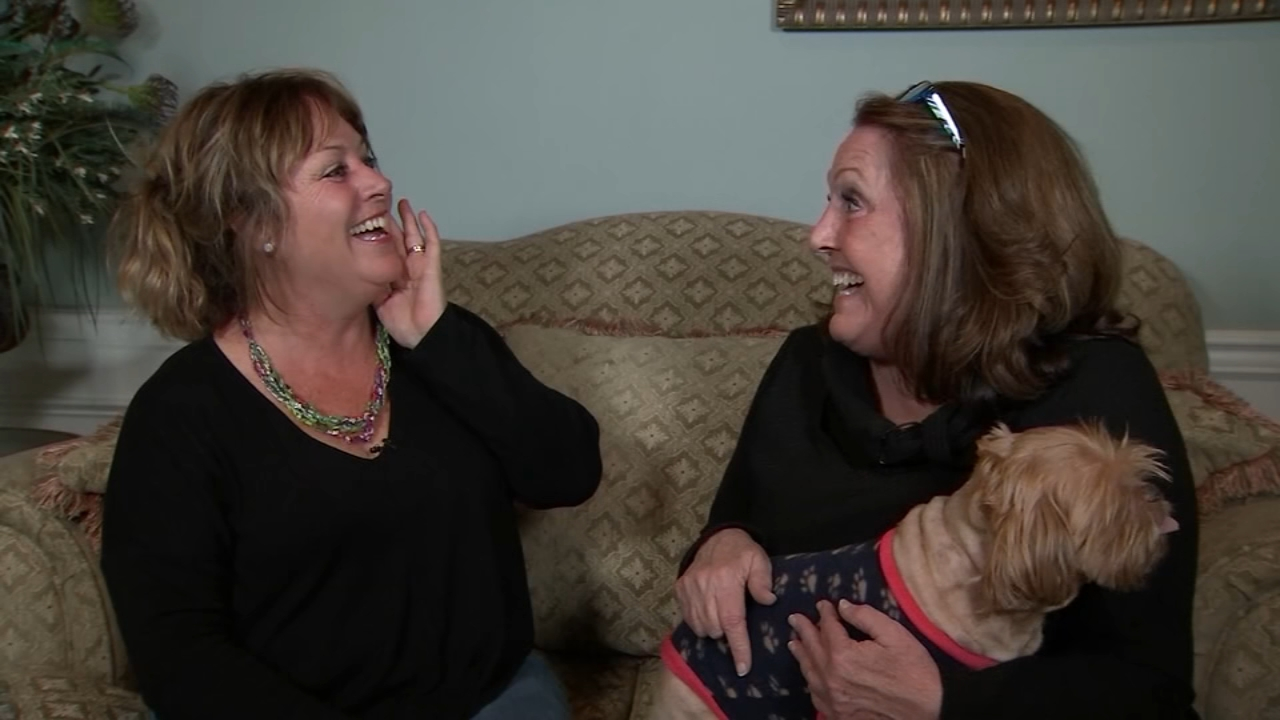 North Carolina sisters meet for first time after 60 years apart