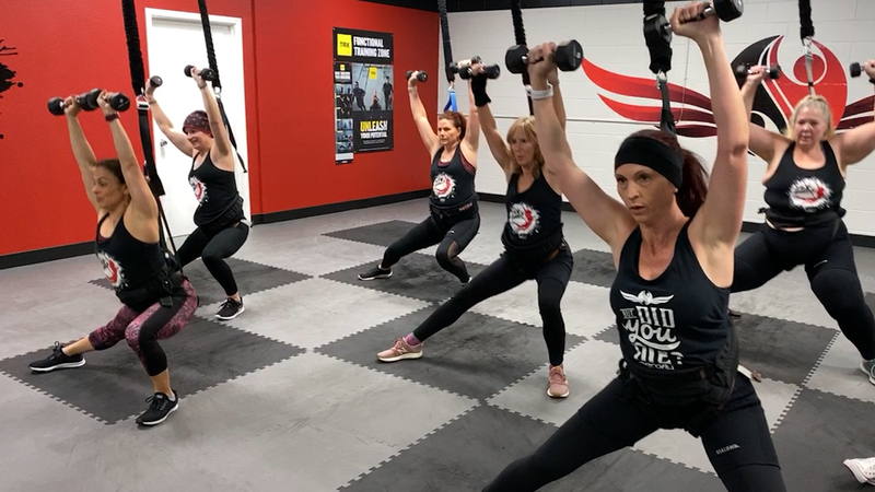 Bungee Fitness Fly High With This New Workout That Has People Jumping For More Abc13 Houston