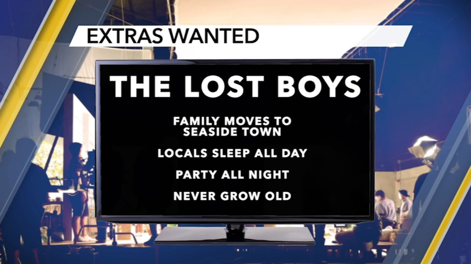 CW series 'The Lost Boys' casting paid extras in North Carolina 1