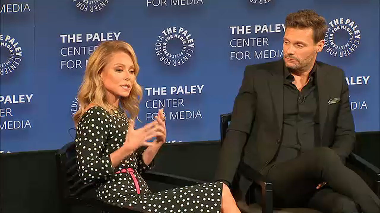 Kelly Ripa and Ryan Seacrest host special evening event at the Paley Center