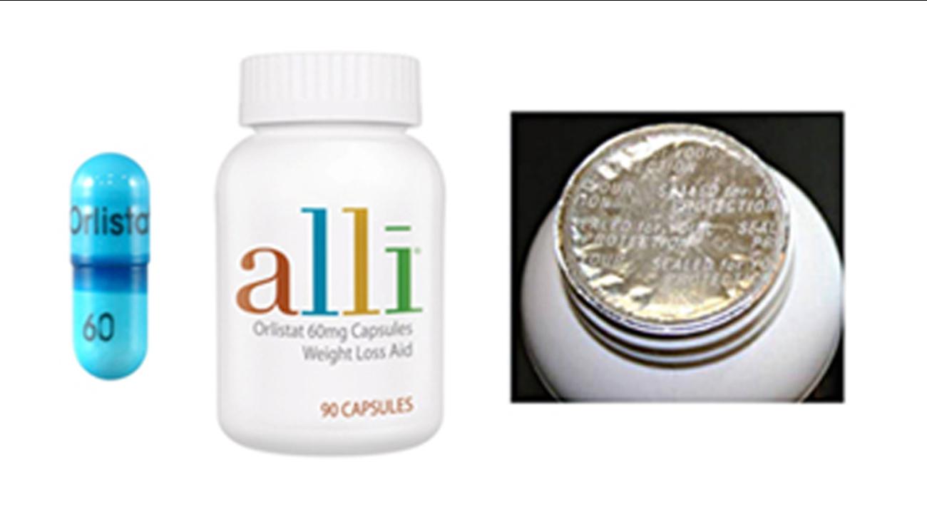 Alli Recall Glaxosmithkline Recalls Diet Pill Over Tampering