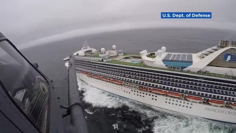 san francisco cruise ship terminal map Coronavirus Concerns Grand Princess Cruise Ship Moves 20 Miles san francisco cruise ship terminal map