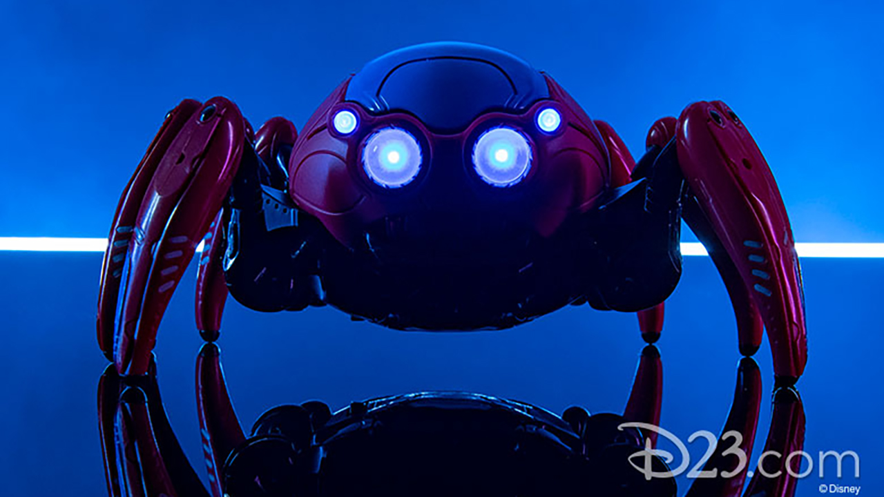 Avengers Campus guests can purchase a version of the Spider-Bots that go haywire in Web Slingers: A Spider-Man Adventure.
