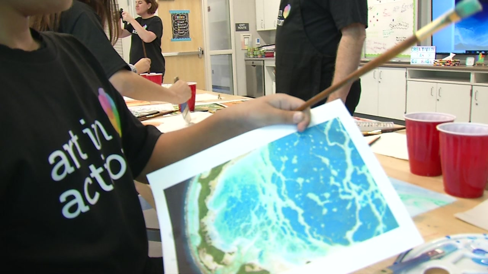 Art in Action: Bay Area-based program helps bring art to students across the country