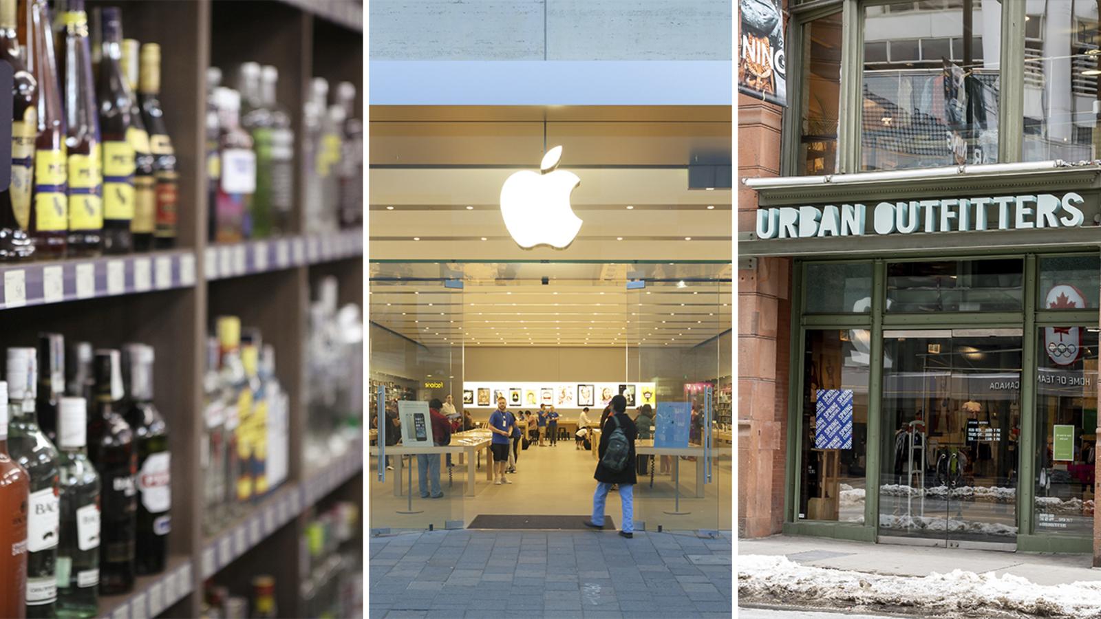 Coronavirus closures: Apple stores, Urban Outfitters, Pennsylvania liquor stores close to promote social distancing -TV