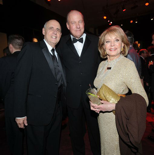 """<div class=""""meta image-caption""""><div class=""""origin-logo origin-image """"><span></span></div><span class=""""caption-text"""">Jeffrey Tambor, Bill Geddie and Barbara Walters attend the TIME's 100 Most Influential People in the World Gala on Tuesday, April, 23, 2013 in New York City, New York. (Photo by Brad Barket/Invision for The Hollywood Reporter/AP Images)</span></div>"""