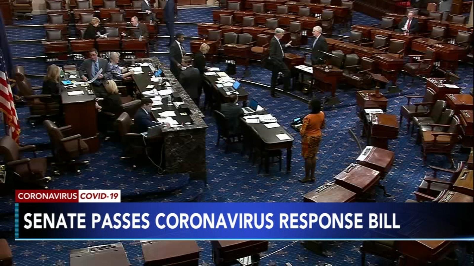 Coronavirus Senate Overwhelmingly Passes Covid 19 Relief Measure Ensuring Paid Sick Emergency Leave 6abc Philadelphia