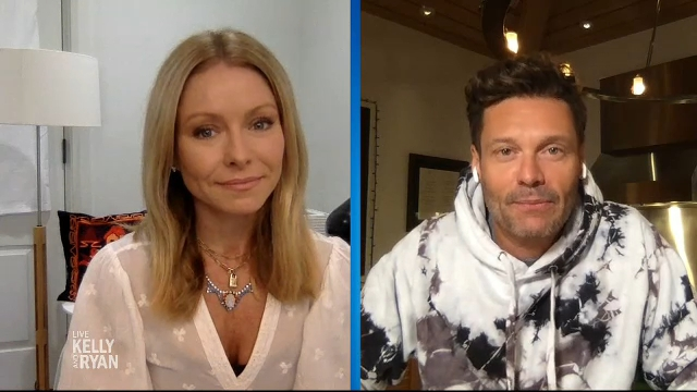 Working remotely on Monday ? So did Kelly Ripa and Ryan Seacrest !