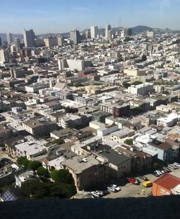 "<div class=""meta image-caption""><div class=""origin-logo origin-image ""><span></span></div><span class=""caption-text"">Even the elevator that takes you to the top of Coit Tower for this million dollar view has been renovated. (Carolyn Tyler)</span></div>"