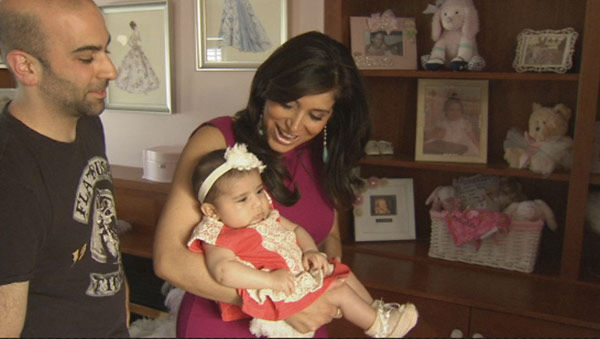 """<div class=""""meta image-caption""""><div class=""""origin-logo origin-image """"><span></span></div><span class=""""caption-text"""">Action News caught up with new mom Alicia Vitarelli, husband Matt and baby Priscilla Isabelle!</span></div>"""