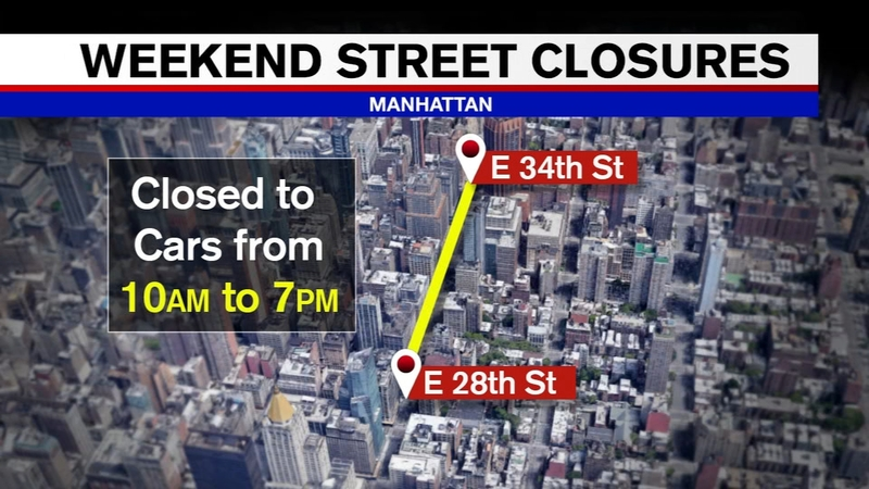 Coronavirus New York City: 4 streets to close to traffic, open for social  distancing space in NYC - ABC7 New York