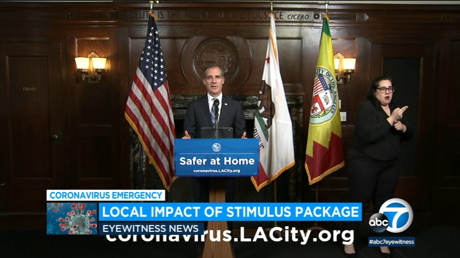 Coronavirus Stimulus Package La Expected To Receive Millions From Congress Relief Bill To Aid Low Income Homeless And City Operations Abc7 Los Angeles