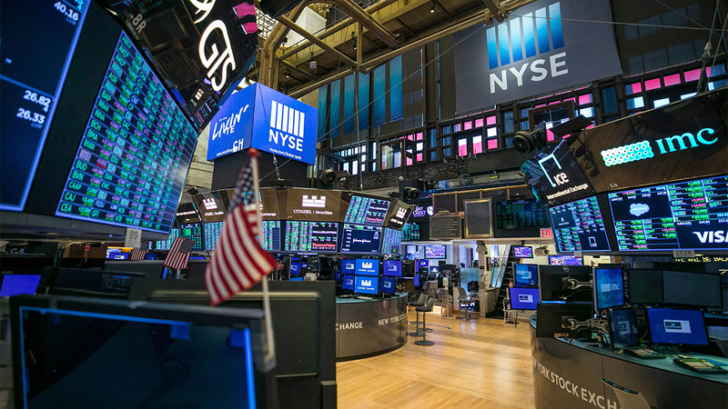NYSE partially reopens trading floor