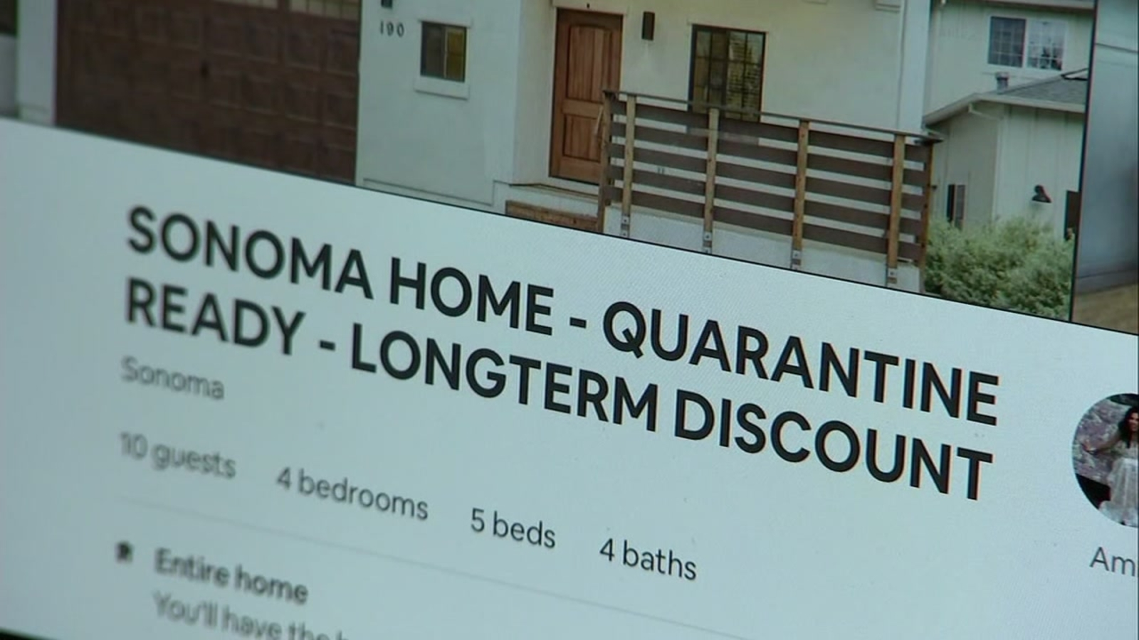 Airbnb Some Sonoma County Vacation Rentals Skirt Shelter In Place Guidelines Amid Coronavirus Abc7 San Francisco