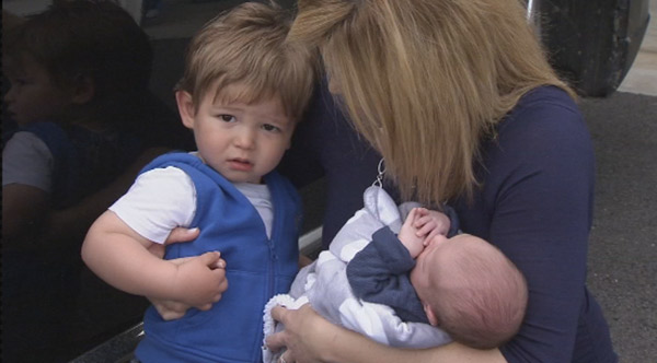 """<div class=""""meta image-caption""""><div class=""""origin-logo origin-image """"><span></span></div><span class=""""caption-text"""">Action News caught up with Jamie Apody, her husband Paul, baby Chase and big brother Tanner!</span></div>"""