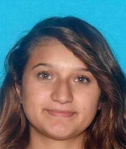 Idalene Yvannia Alvarado, 19, of Rowland Heights is seen in this photo provided by the Pasadena Police Department.