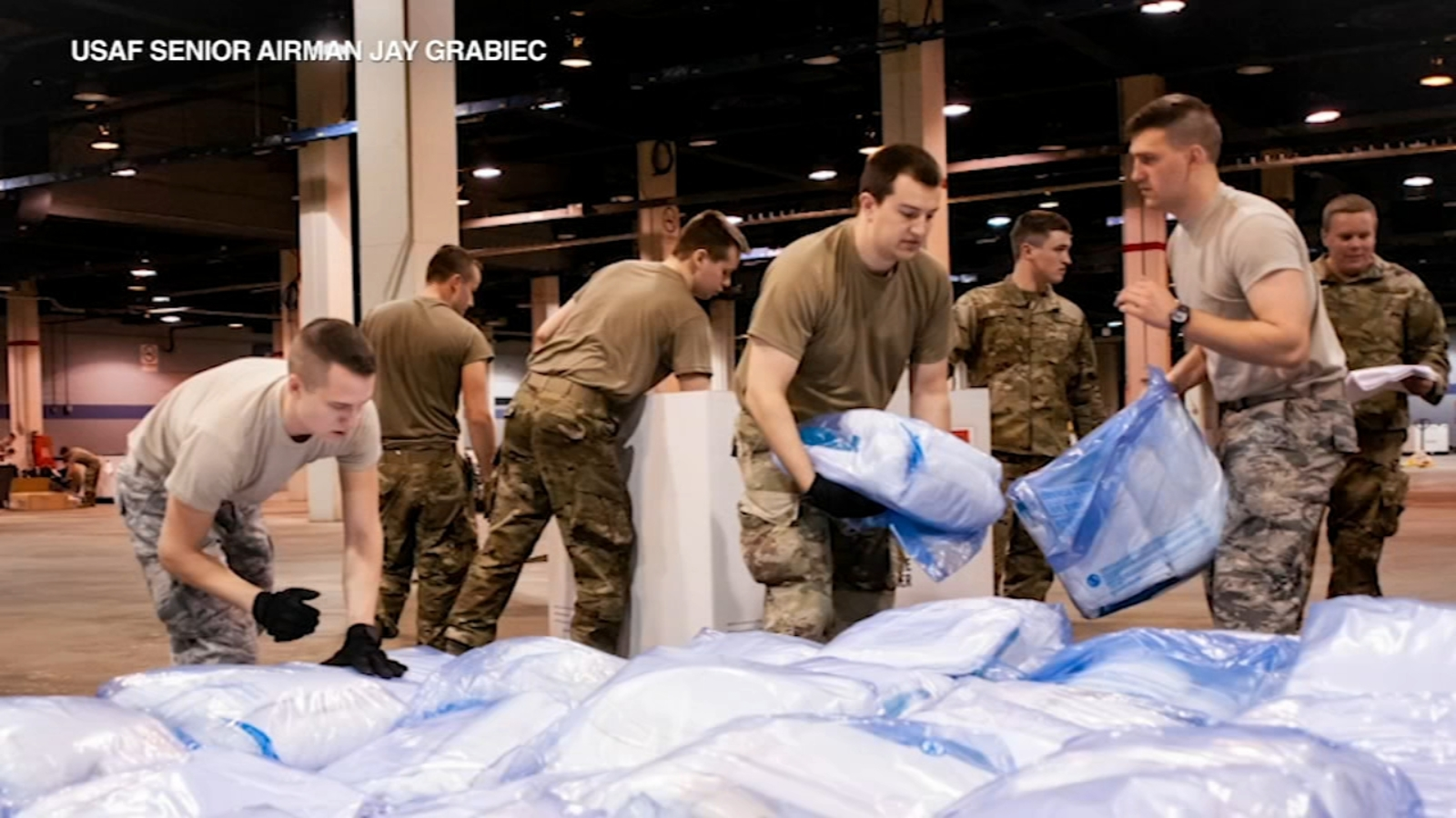 Illinois coronavirus: National Guard races to prepare Illinois' first field hospital as COVID-19 cases surge over 5K with 73 deaths