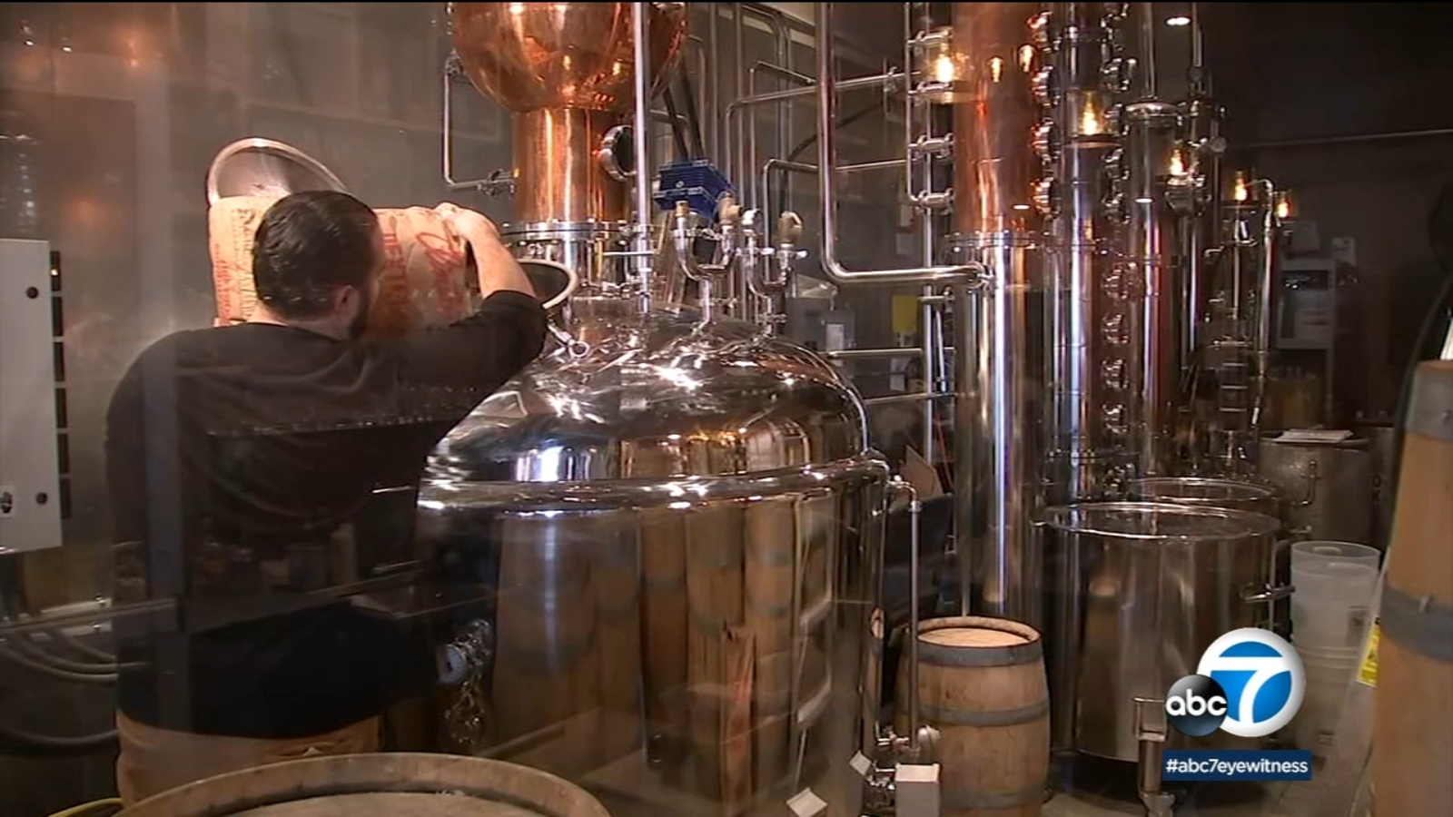 Covid 19 Response Claremont Distillery Pivots From Spirits To Making Hand Sanitizer Abc7 Los Angeles