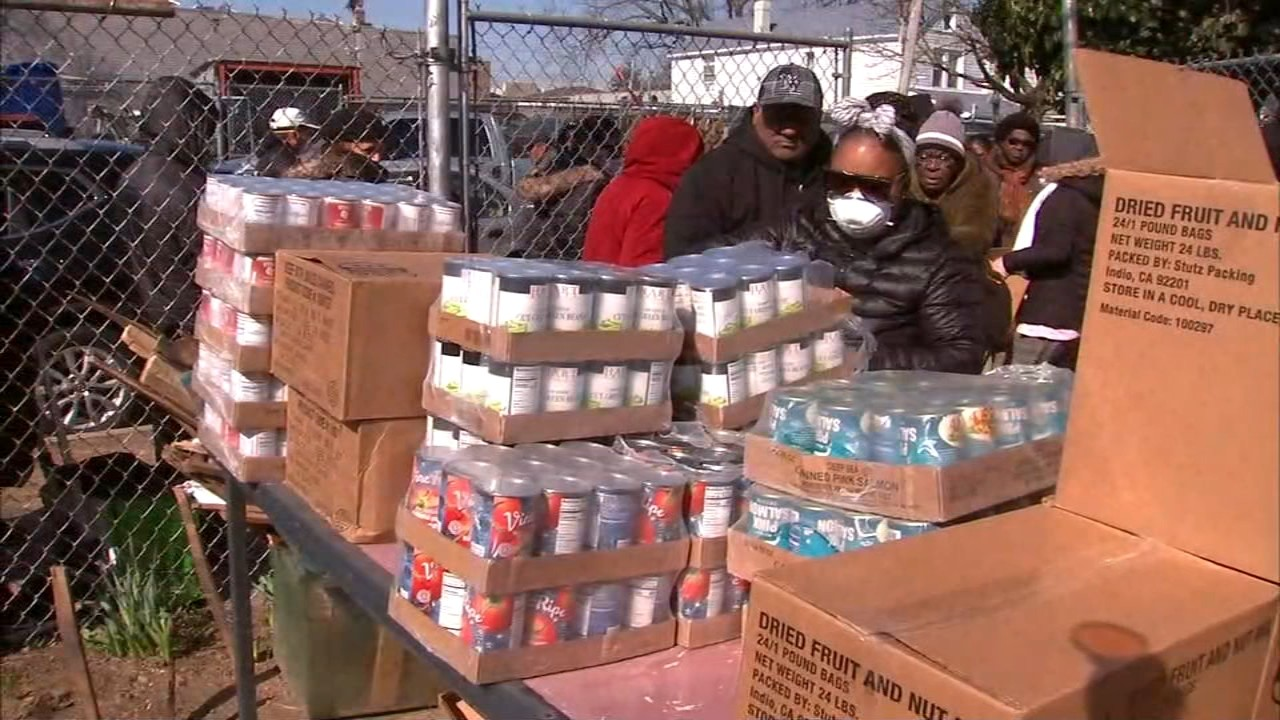 Coronavirus Nyc Local Food Banks Struggle To Stay Stocked Amid